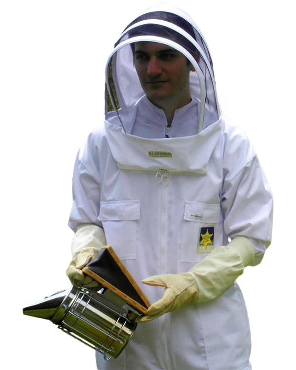 BJ Sherriff - Apiarist Beekeeping Suit - Polycotton - ClearView Fencing Veil