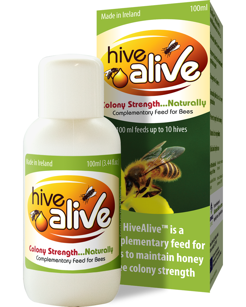 HiveAlive - Liquid Bee Feed Concentrate - Improves Honeybee Health and Winter Survival