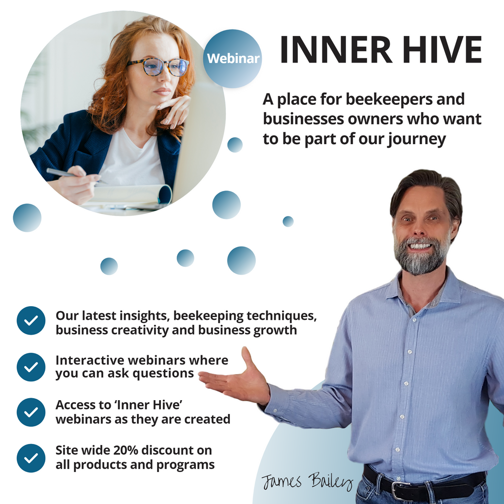 Inner Hive – Interactive Webinars on The Business of Beekeeping