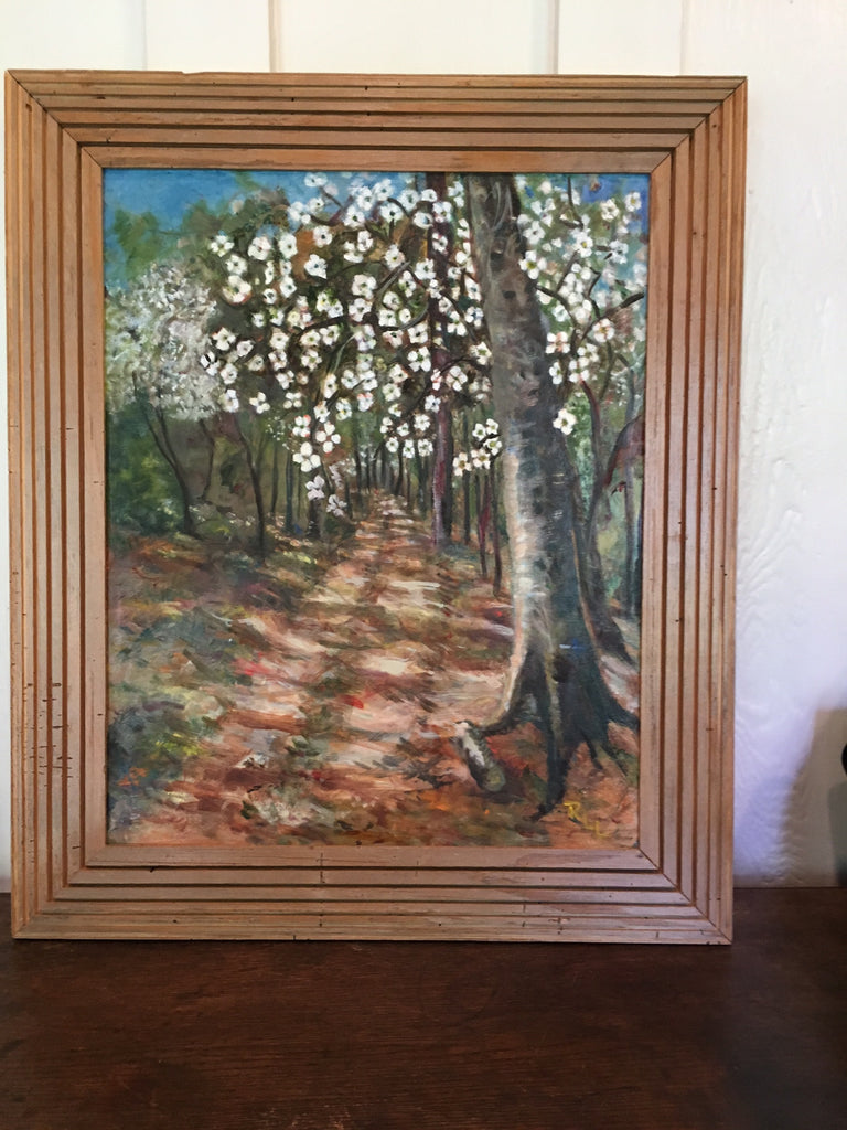 A Walk In The Woods - Painting by Rose Lane Leavell