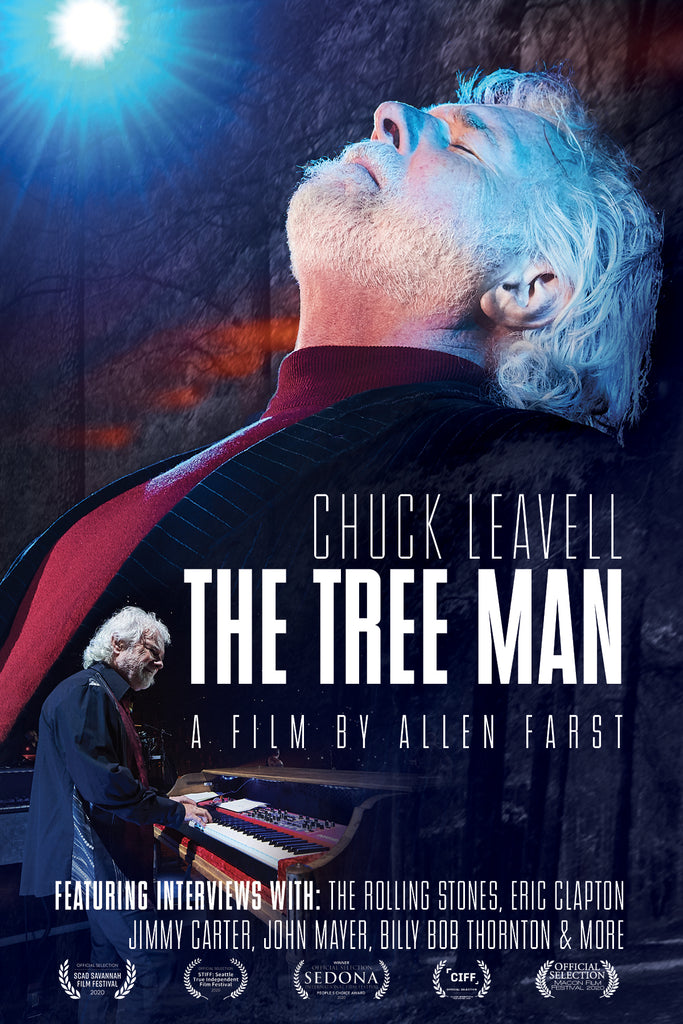 Chuck Leavell: The Tree Man (Signed by Chuck!)