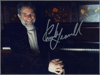 Signed Chuck Leavell Photo - 8.5 x 11