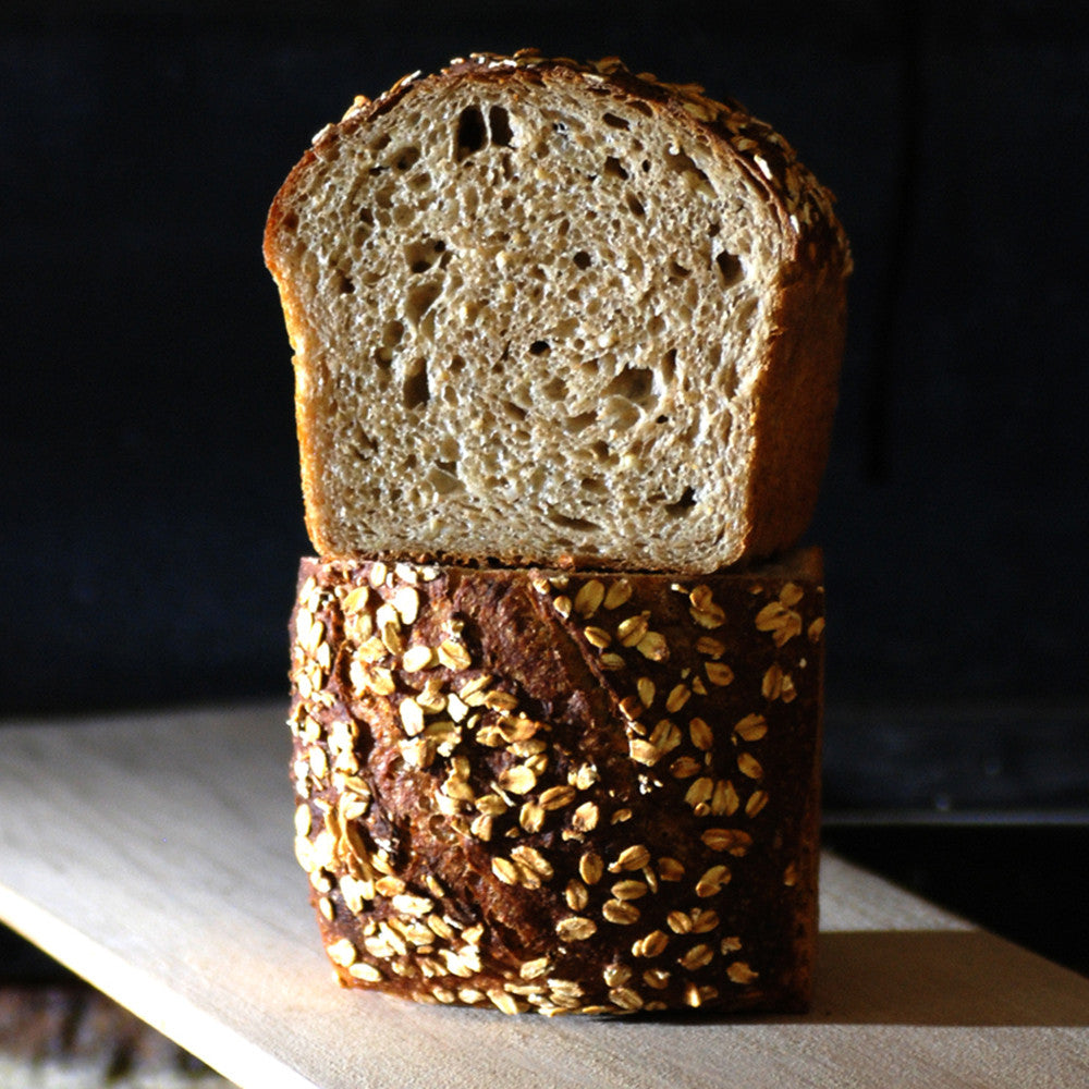 Irish Oatmeal Pan Bread