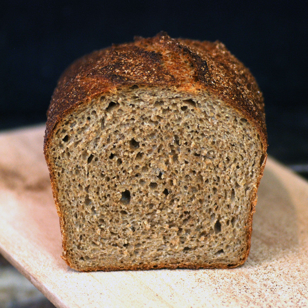 Whole Wheat Pan Bread