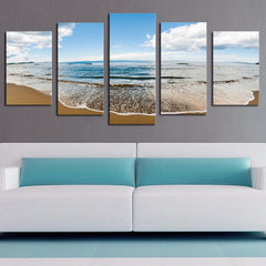 Sprawling Beach - 5 Piece Canvas - BigWallPrints.com - 4