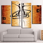 Abstract Dancers