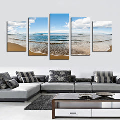 Sprawling Beach - 5 Piece Canvas - BigWallPrints.com - 1