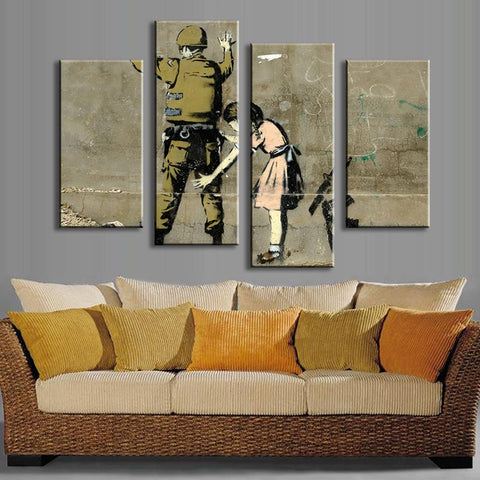 Anti War - Banksy Art