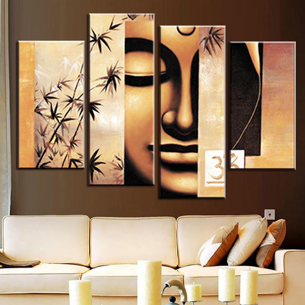 Abstract Buddha Scene