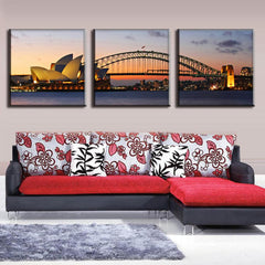 Sydney Opera House and Harbour Bridge