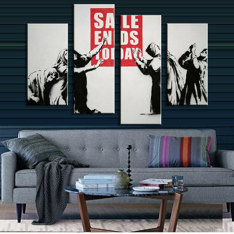 "Banksy ""Sale Ends Today"""