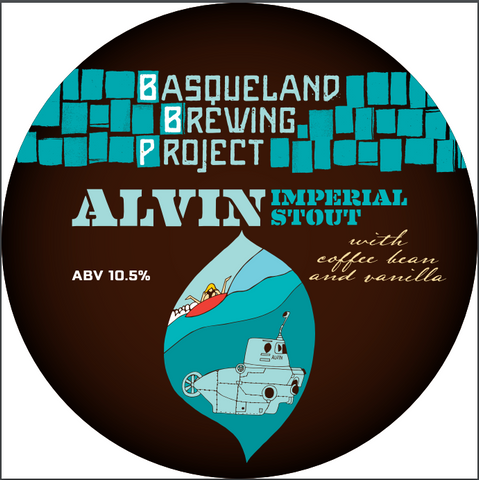 12-pack Basqueland Alvin Imperial Stout with Coffee 33CL