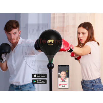 Move It ! Smart Boxing Ball With Bluetooth Sensor