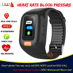 Emergency SOS GPS  Watch with Health Data Monitor -Sim Card  Ready - Biometric Sports Solutions