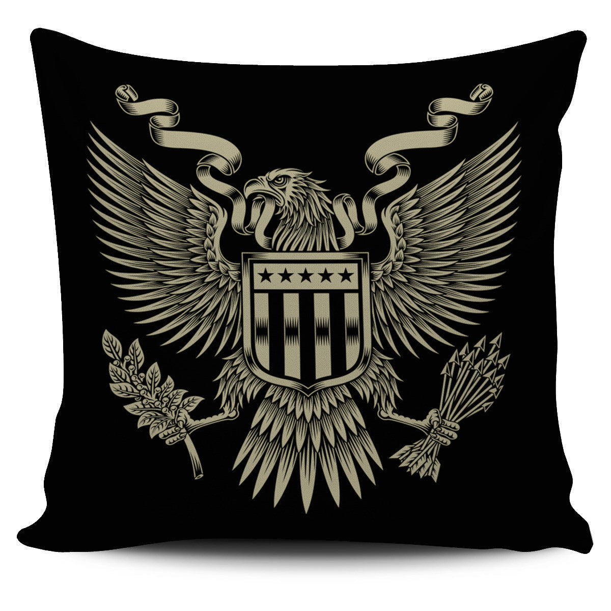 American Eagle Pillow Cover