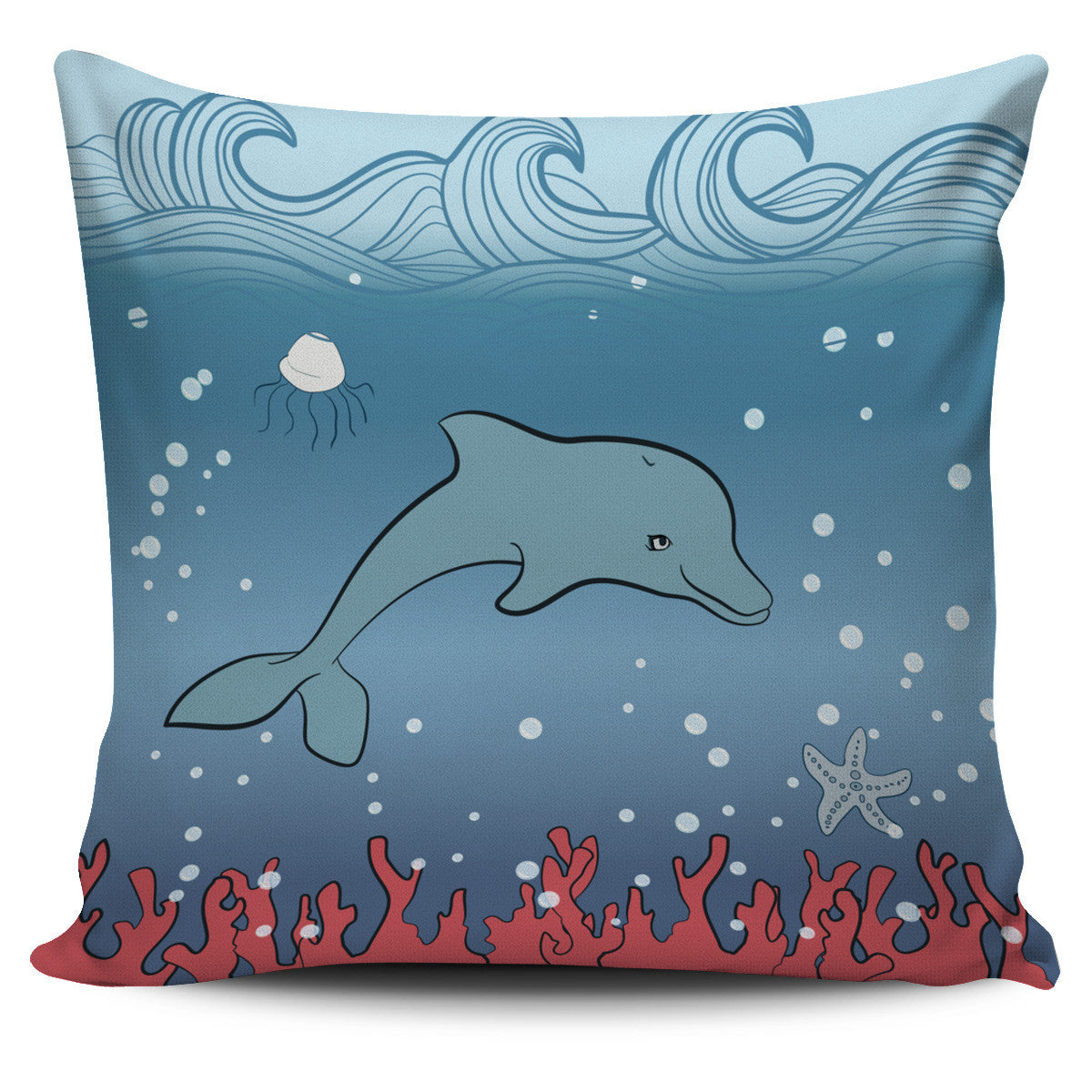 Dolphin Pillow Cover Series Offer