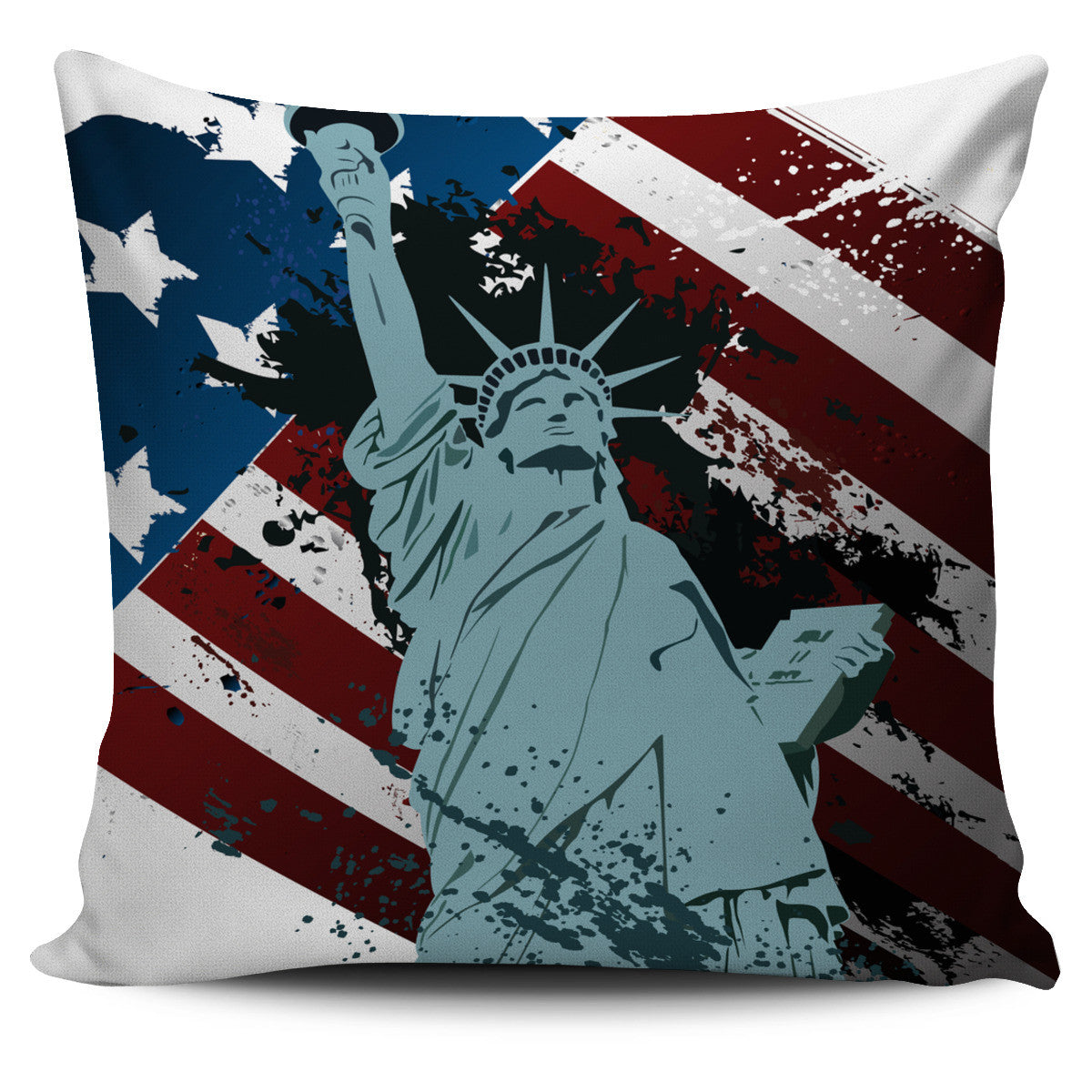 Statue of Liberty Pillow Cover Offer