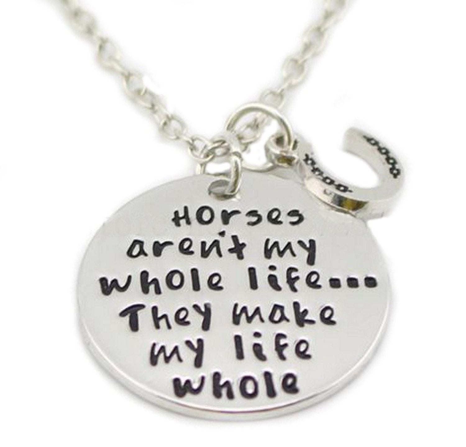 Horses Make My Life.. Necklace