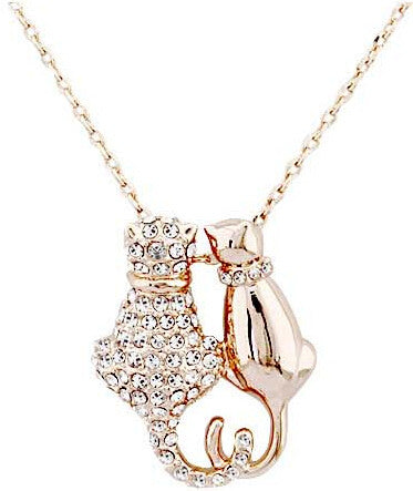 Crystal Cat Necklace Offer