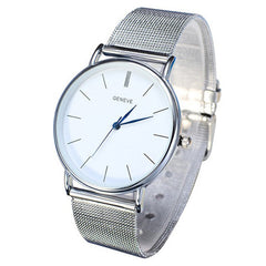 Metal Mesh Stainless Steal Watch