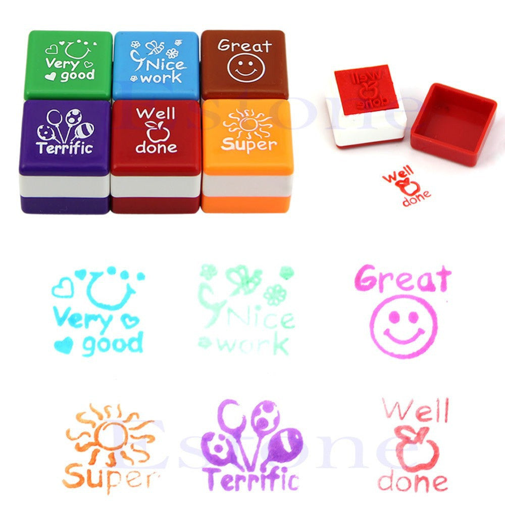 Teachers Self Ink Rubber Stamps