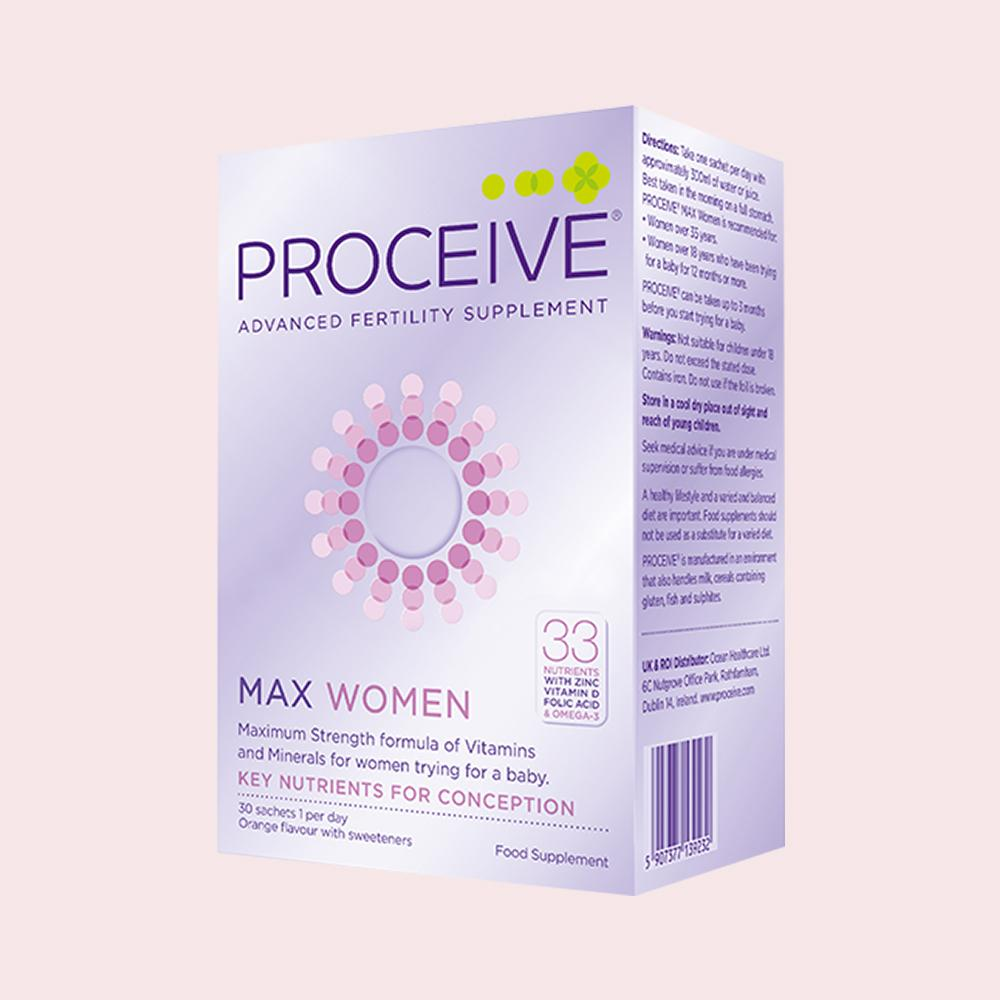 Proceive Max Women Fertility Supplement