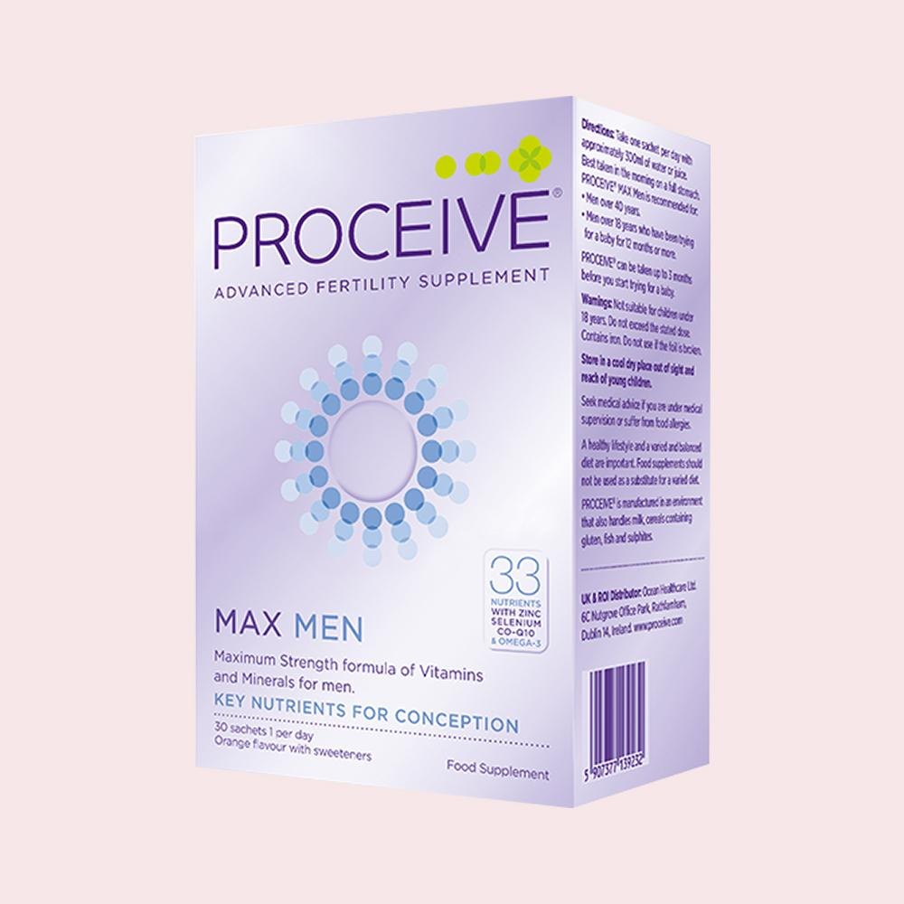 Proceive Max Men Fertility Supplement (30 sachets)