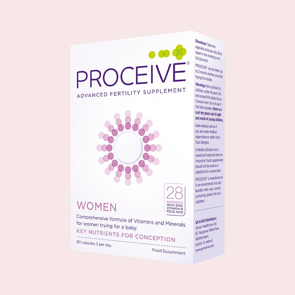 Proceive Women Fertility Supplement (60 capsules)