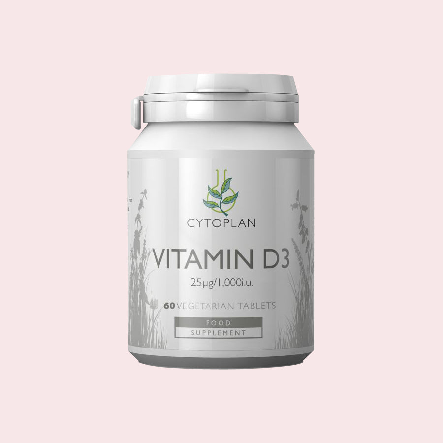 Cytoplan Vitamin D3 Vegetarian Tablets (60 days' supply)