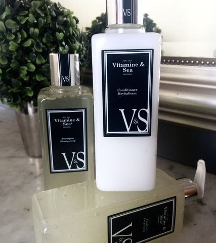 Hydration And Style Hair Care Combo - Vitamine & Sea