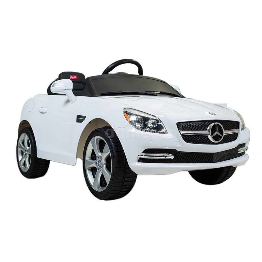 6v mercedes benz slk kids ride on toy electric cars with parental remote control