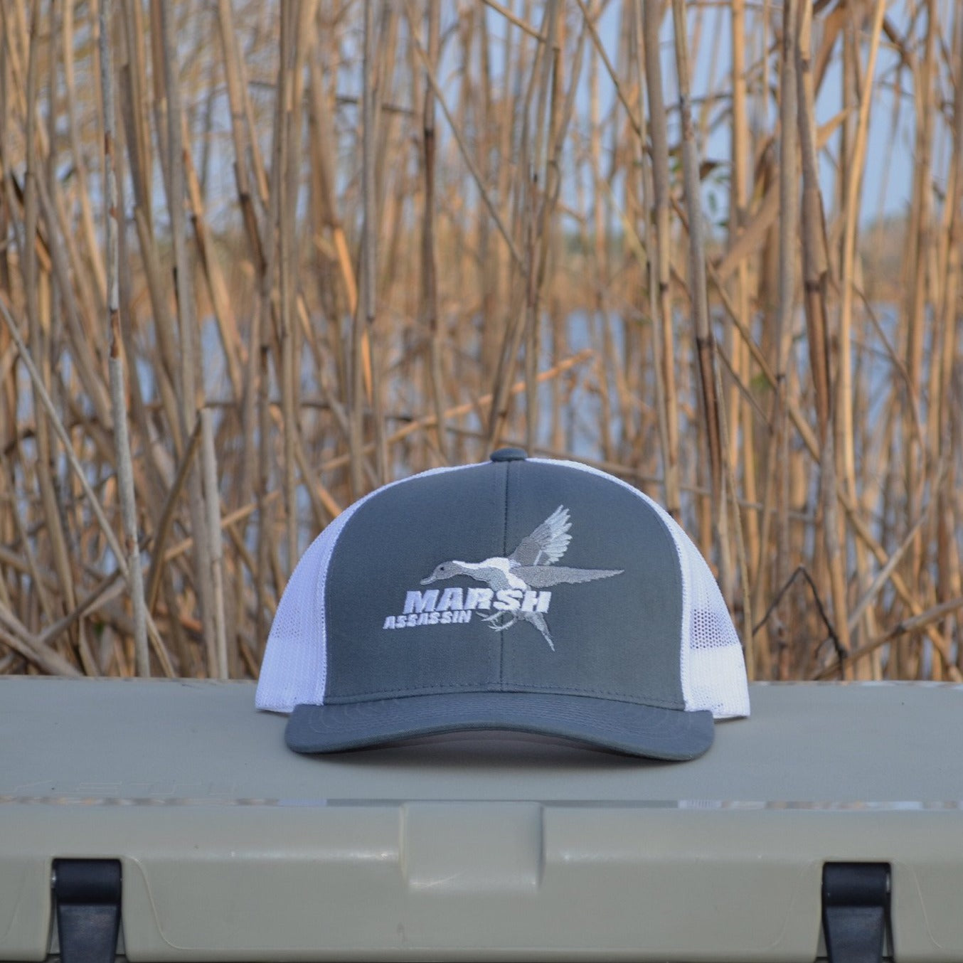 Duck Hunting Hat Waterfowl Hat – Marsh Assassin b0b9506834b