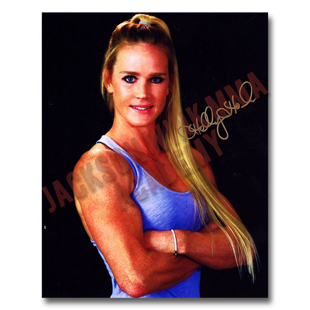 Holly Holm as displayed on the Wall Of Fame at Jackson Wink MMA Academy