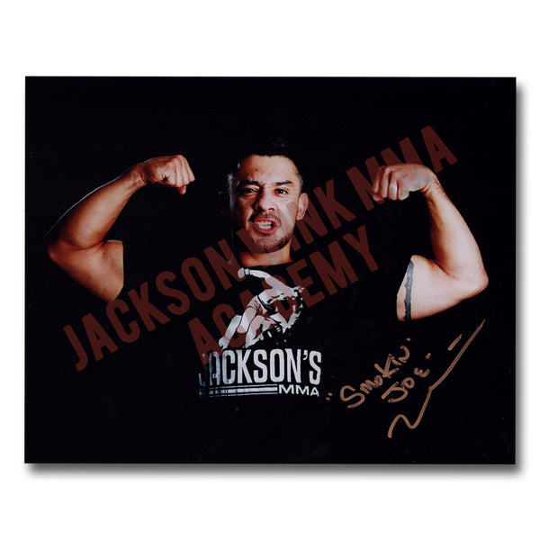 "Joey ""Smokin"" Villasenor - 8""x10"" Autographed Photo"