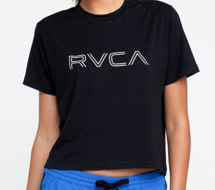 RVCA Female Boxy Sport Top