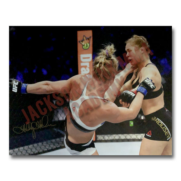 "Holly Holm - ""The Headkick"" Autographed Photo"