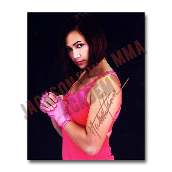 Michelle Waterson as displayed on the Wall Of Fame at Jackson Wink MMA Academy