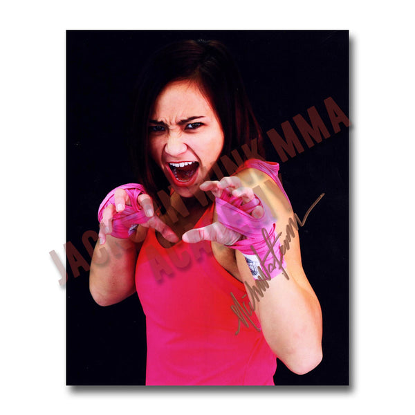 "Michelle Waterson - ""The Eye of the Tigress"" - Autographed Photo"