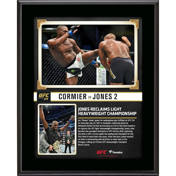 "Jon Jones UFC 214 10.5""x13"" Sublimated Plaque"