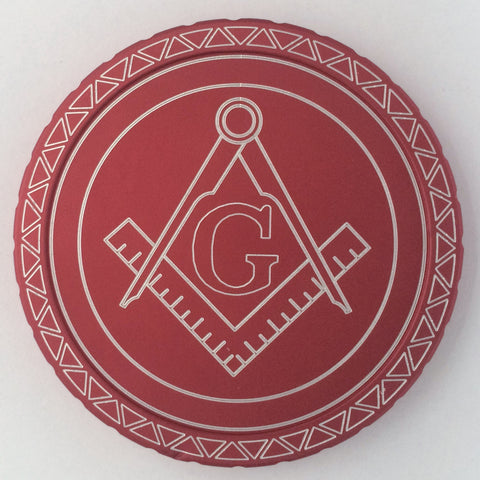 Masonic Custom Dip Lid - Center Point CnC