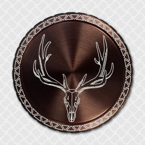 Elk Skull - Center Point CnC