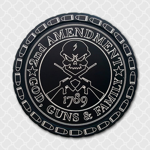 God, Guns and Family - Center Point CnC