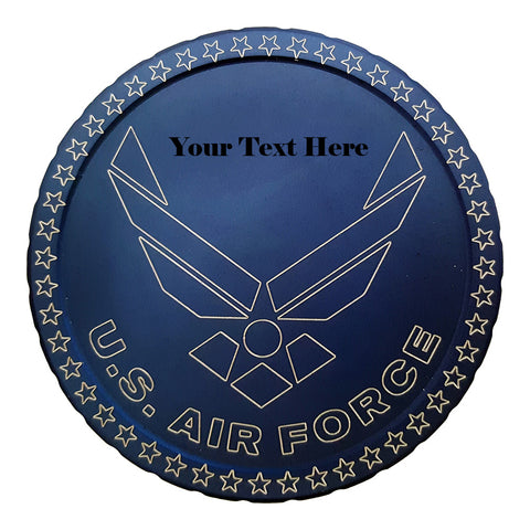 U.S. Air Force with personalized text. - Center Point CnC