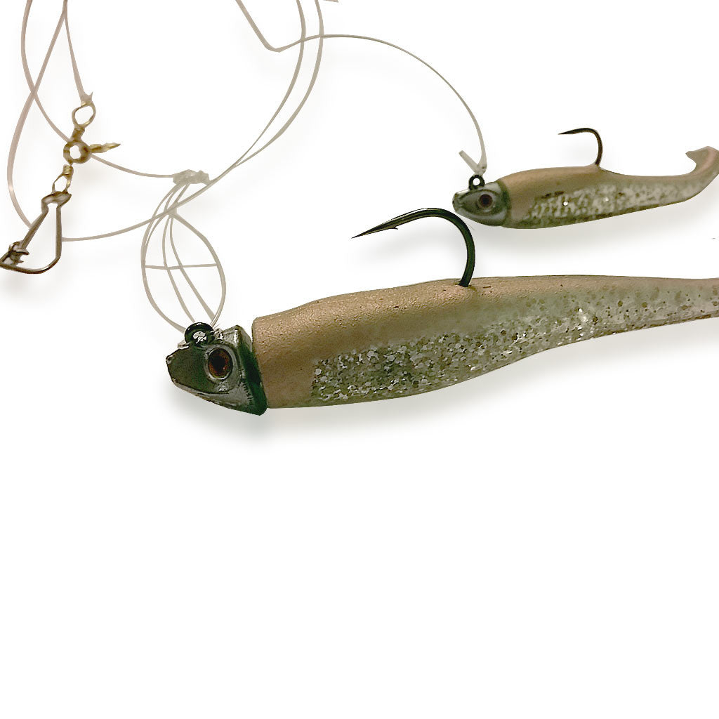 6 Quot Whip It Fish Fluke Rig Al Gags Fishing Lures