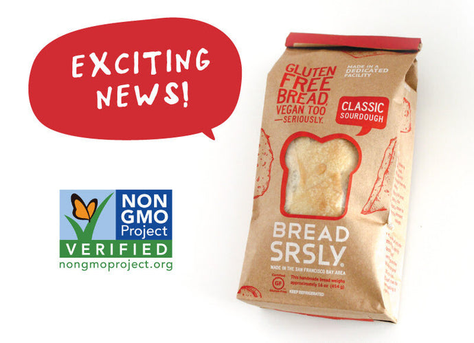 NON-GMO PROJECT VERIFIED!