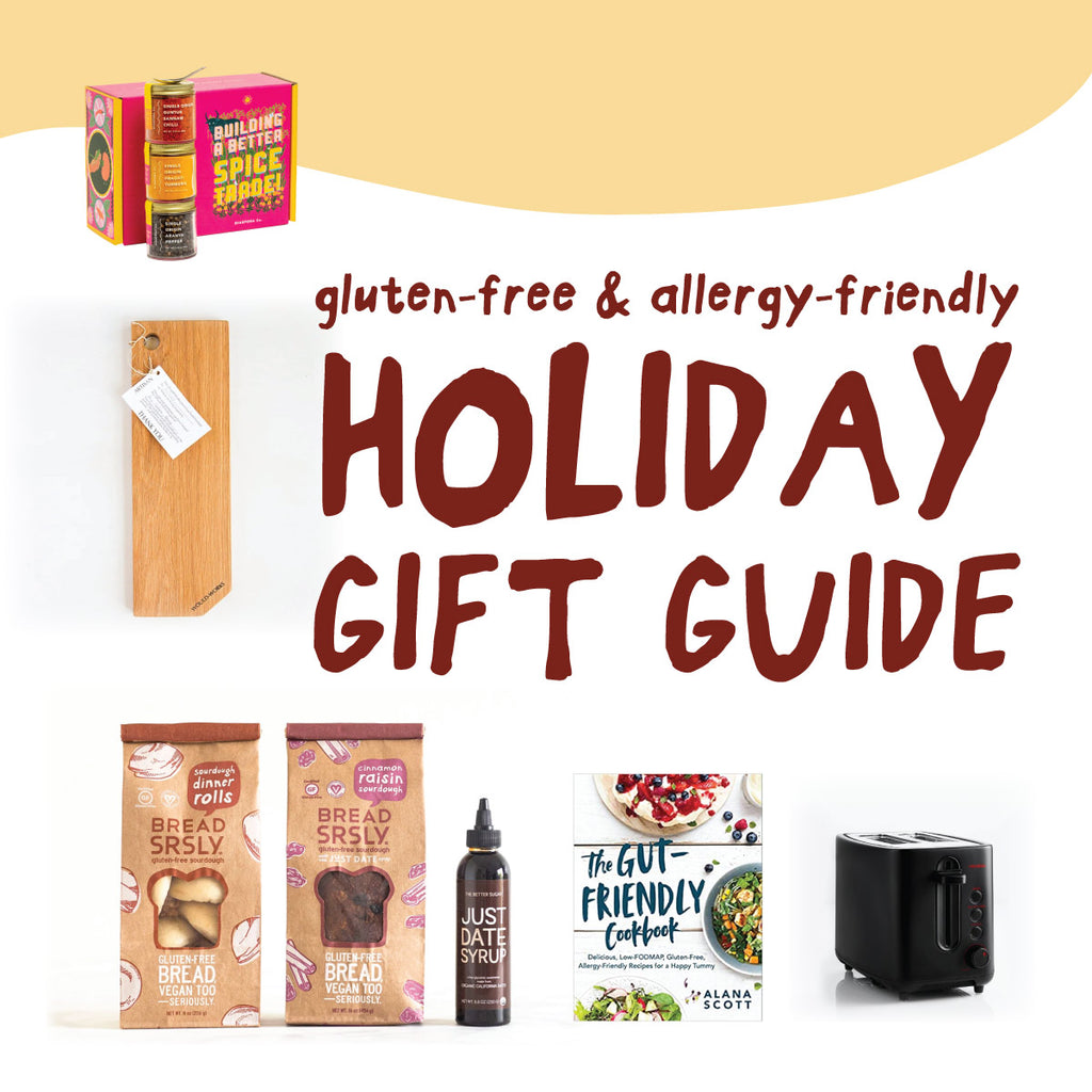 Gluten-free and allergy-friendly holiday gift g uide