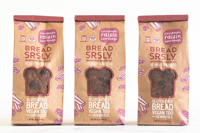 Cinnamon Raisin Gluten-Free Sourdough 3-Pack