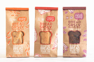 Mixed 3-Pack of Bread SRSLY Gluten-Free Sourdough