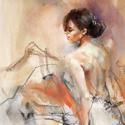 Collision of Light 2 Oil Painting by Anna Razumovskaya