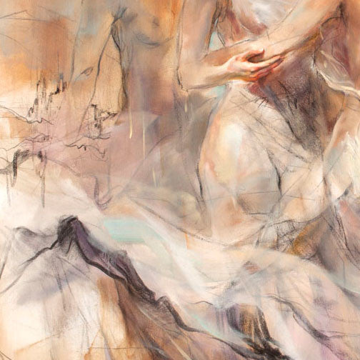 Devotion Oil Painting by Anna Razumovskaya